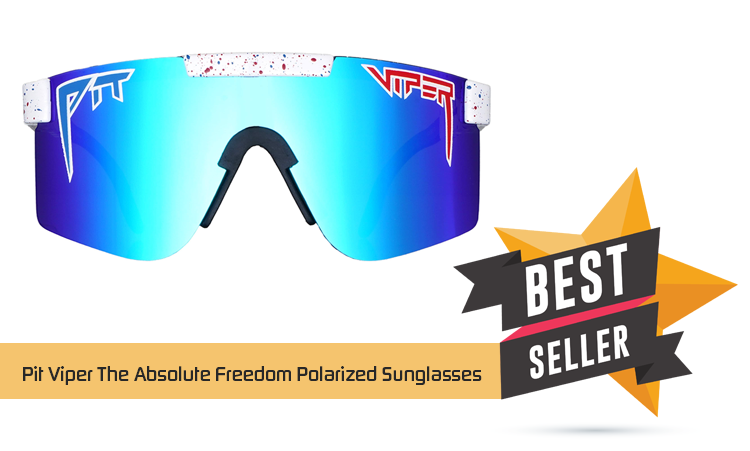 Pit Viper The Absolute Freedom Polarized Sunglasses – Apparel & Accessories