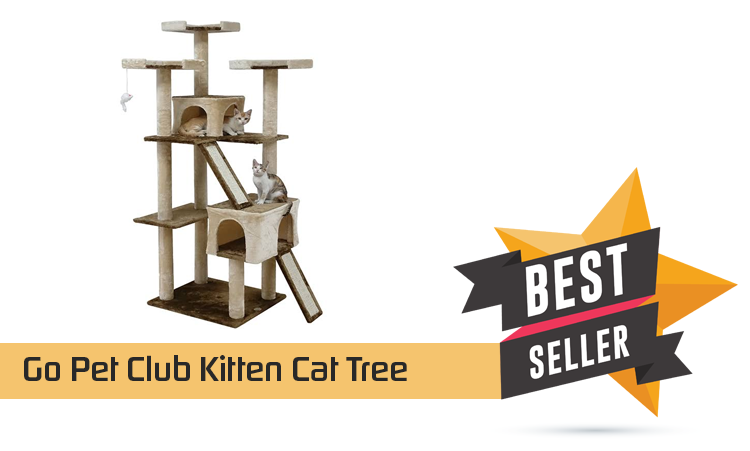 Go Pet Club Kitten Cat Tree – Animals & Pet Supplies